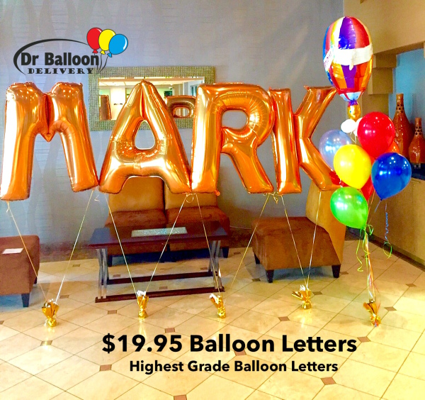 Same Day Deliveris CA LA Balloon Delivery BallooN Bouquets Decoratings Send Helium Filled Birthday Balloons IN Los Angeles Santa Monica